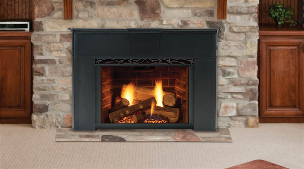Monessen Direct Vent Gas Fireplace Insert Reveal, Monessen Reveal ...