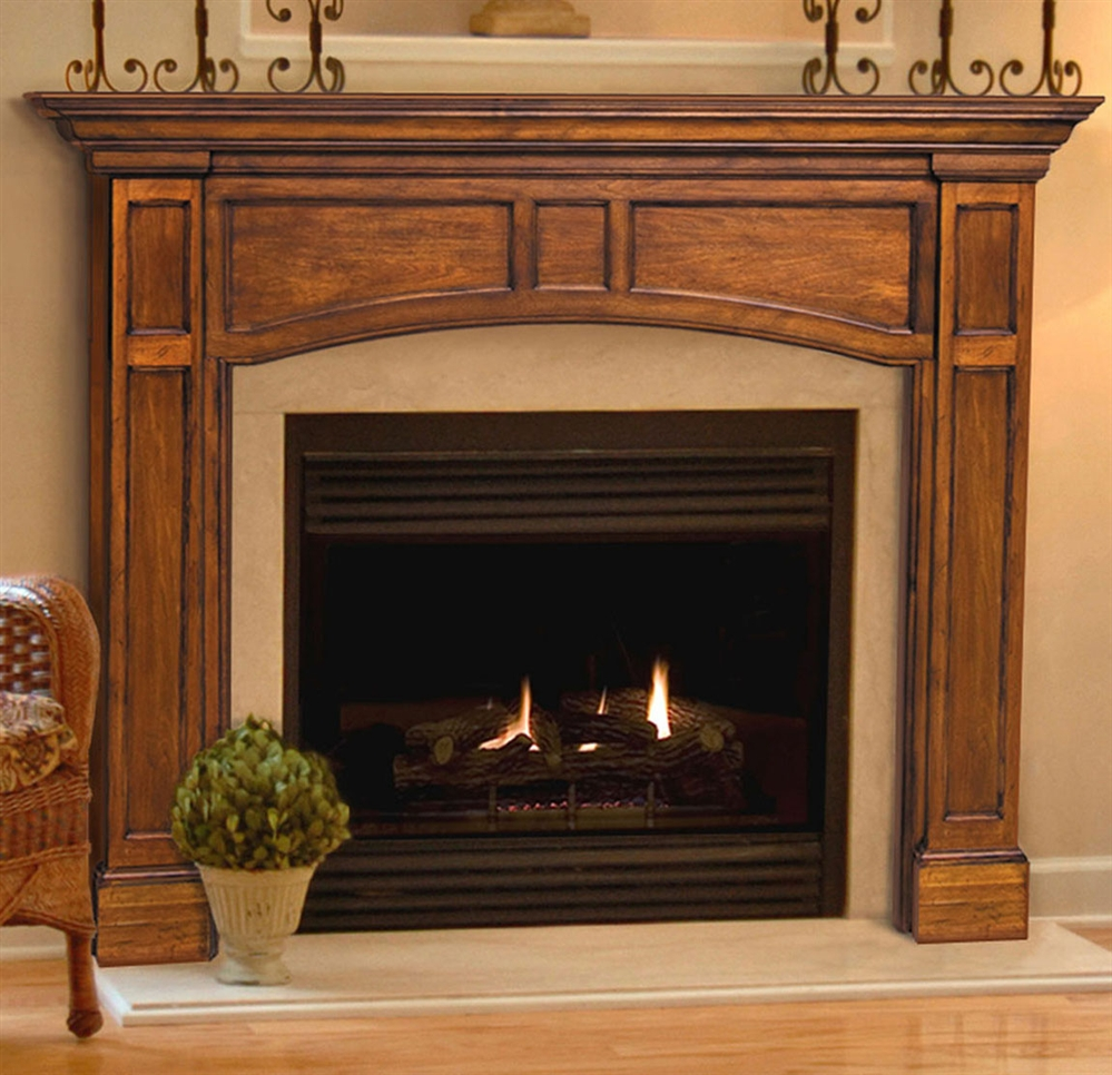 pearl mantels vance fireplace mantel surround. Black Bedroom Furniture Sets. Home Design Ideas