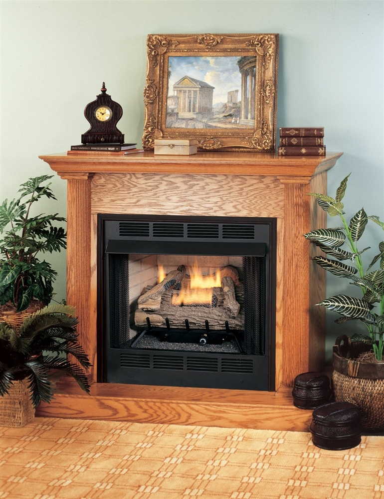 Comfort Flame Vent Free Gas 32 Quot Fireplace System